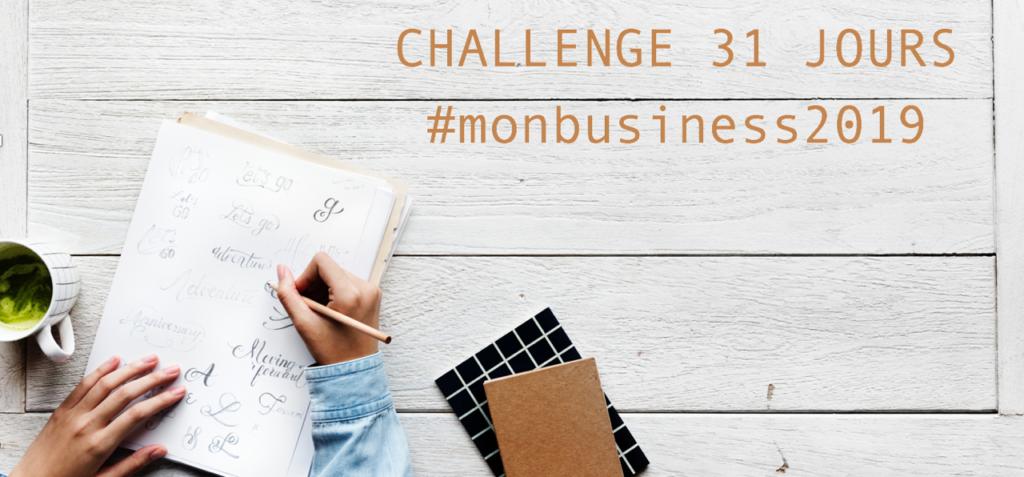 Challenge #monbusiness2019