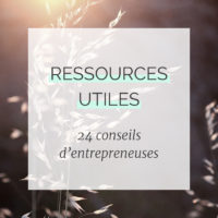 24 conseils d'entrepreneuses