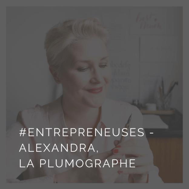 Interview d'Alexandra, calligraphe sous la marque La Plumographe