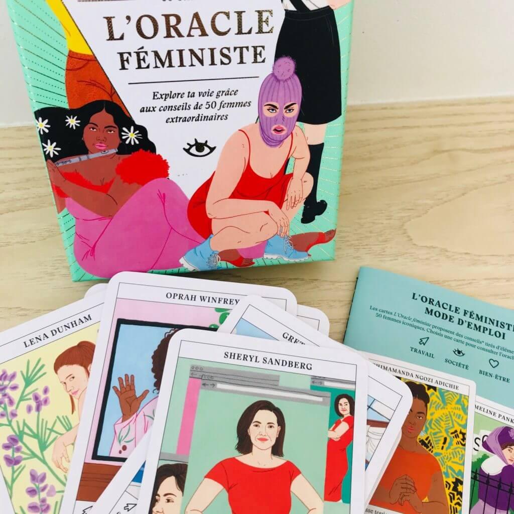 S'inspirer de 50 femmes puissantes avec l'Oracle féministe, aux éditions Pyramyd